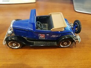 1997 Sentry Hardware Die Cast Car, 1928 Chevy LIMITED EDITION NO. 3 Coin Bank