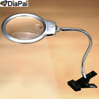 Magnifying Led Glass For Diamond Painting Tool Accessory 5d Embroidery Magnifier