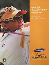 "Palm Desert CA 2006 LPGA ""Samsung World Championship""  Program + Spec Guide"
