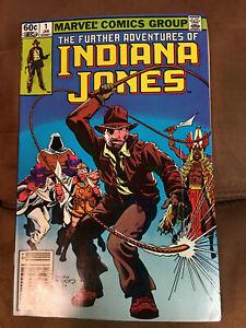 Indiana Jones #1 | Classic Issue | 1982 | Marvel Comics
