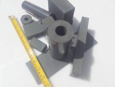 25 kg PVC Gris reste des pièces Rond Plaque Carré BARRE Creuse Bastler Moulin