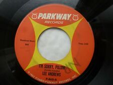 LEE ANDREWS 45 'I'M SORRY PILLOW' USA PARKWAY 1962 DOO WOP R&B SOUL TEEN VG