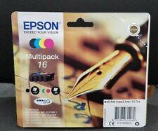 Epson 16 Series Pen and Crossword Ink Cartridge Multipack - Black, Cyan,...