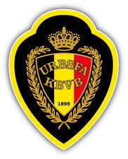 Belgium National football team Europe Soccer Car Bumper Sticker Decal 4'' x 5''