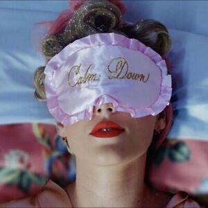 "RARE taylor swift ""Calm Down"" lover sleep mask"