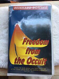 Freedom From The Occult VHS Reinhard Bonnke Ministries Evangelist Christian 1992