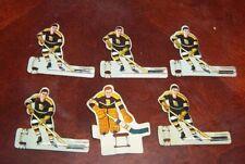 Eagle Hockey Team Boston Bruins long slot goalie1950's table top hockey game BB1