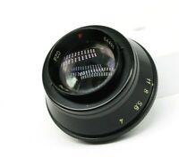 Vintage Lens for enlarger Emitar 4.5/76 Red P Black Rare PZO M42 Mount Creative