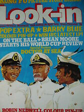 LOOK-IN MAGAZINE 20TH APRIL 1974 - BARRY BLUE - DOCTOR AT SEA (ROBIN NEDWELL)