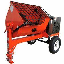 16 Cu Fthydraulic Towable Steel Drum Concrete Cement Mortar Plaster Mixer With