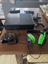Microsoft Xbox One 500GB Black Console