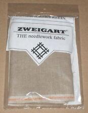 """Zweigart 32 Count Belfast """"Raw Linen"""" Cross Stitch Fabric 18x27"""""""