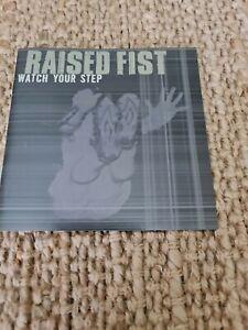 RAISED FIST - WATCH YOUR STEP - CD - HARDCORE PUNK