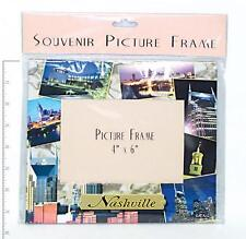 "NASHVILLE (12) SCENIC COLLAGE PAPER PHOTO FRAMES HOLDS 4"" X 6"" PHOTO MEMORIES"