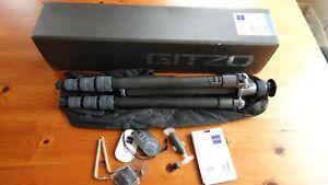 Gitzo GT1541T 6X -- GITZO Traveler Carbon Fiber Tripod - PRISTINE! with Box...