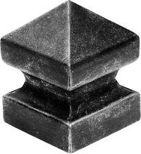 1x Zaunkappe Pfostenkappe Ornamented Gitterzaun Tore Zaunbau 150x150mm, H=200mm
