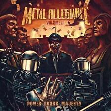 volume II : Power Drunk Majesty METAL ALLEGIANCE CD (NIGHTWISH ,OVERKILL,ANTHRAX