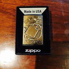 """Zippo Lighter """"Repair Lighter"""" Emblem Year 2000 Design"""