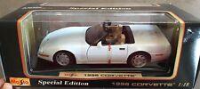 1996 Chevy Corvette White Special Edition By Maisto (JVE:458)