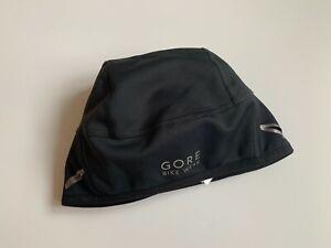 GORE Bike Wear Windstopper Hat Beanie Cycling Men's Size M EU 54-58 Black