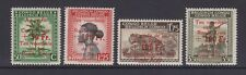 Belgian Congo - SG 269aa/d - u/m - 1944 - Red Cross Fund