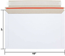 New Listing100 7 X 10 Self Seal Rigid Photo Shipping Flats Cardboard Envelope Mailers