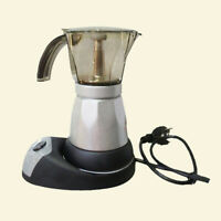 Creatore Caffè Espresso Elettrico Caffettiera Percolatore Moka Pota Spina EU