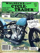 Walneck Cycle Trader Magazine #80 SEPT 1990 Motorcycle