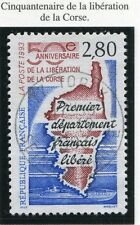 STAMP / TIMBREDE  FRANCE OBLITERE N° 2829 CARTE DE L'ILE CORSE