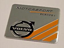 VOLVO MOTORSPORT CHROME METAL BADGE EMBLEM LOGO STICKER XC60 V40 V70 V60 XC90