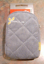 HAMA: Golla Digi Bag grau Cord Phototasche Hüfttasche / MP 3 Tasche - NEU