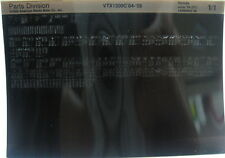 Honda VTX1300C 2004 - 2005 Parts List Microfiche h374