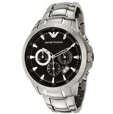 ** nuevo ** emporio Armani Reloj ® AR0636, Negro, Para Hombre Cronógrafo