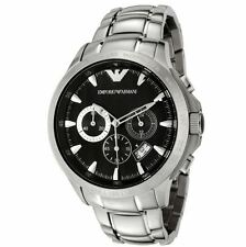 ** NEW **Emporio Armani® watch AR0636 , Black , mens CHRONOGRAPH