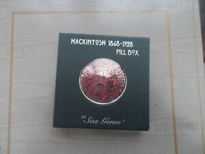 MACKINTOSH PILL BOX NEW IN BOX BY SEA GEMS