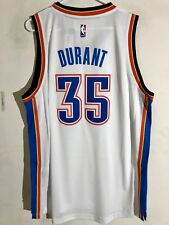 Adidas Swingman 2015-16 NBA Jersey OKC Thunder Kevin Durant White sz XL