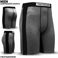 Mens Compression Shorts Base Layer Skin Tight Fit Gym Fitness Yoga Boxer Short