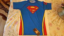 Fusion Fg Superman Logo Rashguard Shortsleeve (Size L)