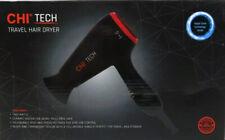 CHI Tech 1400W Travel Ceramic Hair Dryer w/ Rapid Clean Technology Black/Red