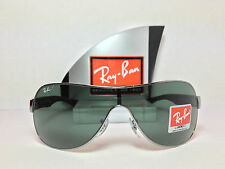ray ban sunglasses size chart  Ray Ban RB 3471 004/71 Sunglasses Grey Frame and Green Lens Size ...