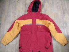 JACK WOLFSKIN schöne Doppeljacke rot orange Gr. 140 TOP KSo118