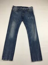 Men's Diesel 'POIAK' Jeans - W34 L34 - Navy Wash - Great Condition