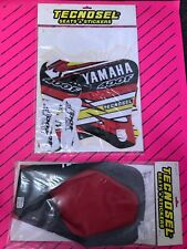 Tecnosel Yzf 250 400 426 1998-2002 Graphics Seat Cover Decals Nos Yamaha