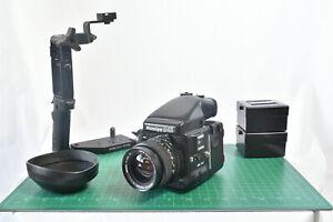 Mamiya M645 PRO + Sekor 55mm f/2.8 N + extras VIntage Medium Format Film Camera