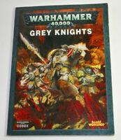 Warhammer Grey Knights Codex  FREE SHIP