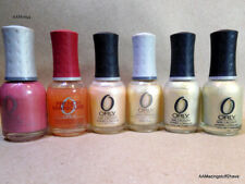 ORLY 6 Bottles of Nail Polish Preowned Perl Colors
