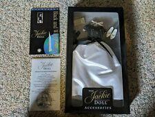 Franklin Mint The Jackie Doll Black & White Gown Ensemble