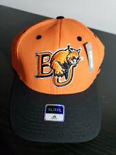 Adidas Climalite Baker University Baseball Cap XL/XXL Flex Hat Orange