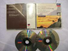 VILLA-LOBOS/C.Ortiz/RPO/Martínez: The 5 Piano Concertos - 1997 EU 2 x CD BARGAIN