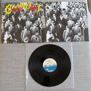 GENTLE GIANT - CIVILIAN - ORIGINAL UK ISSUE LP ON CHRYSALIS RECORDS - 1980 - EX